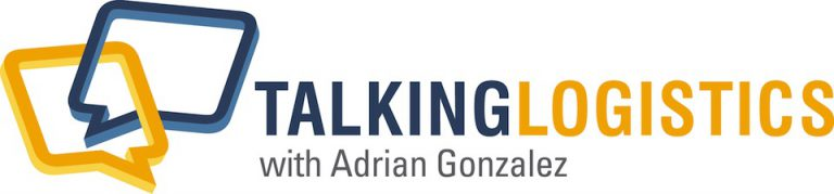 talking logistics with adrian gonzalez logo