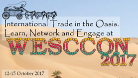 international trade in the oasis. Learn, network, and engage at WECCON 2017
