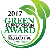 2017 green supply chain award badge