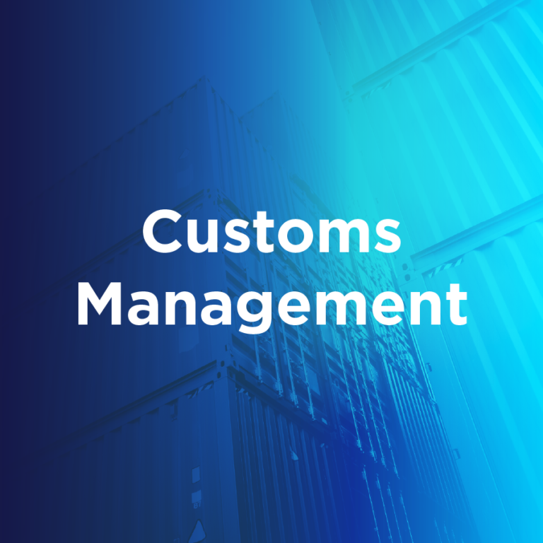 Customs Management