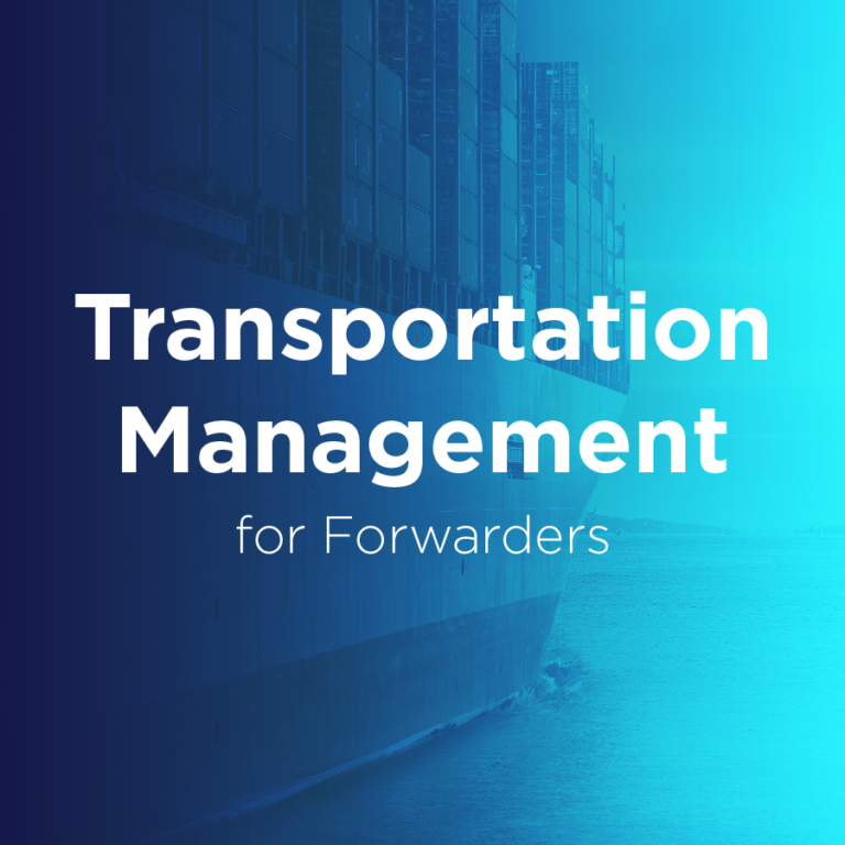 Transportation Management for Forwarders