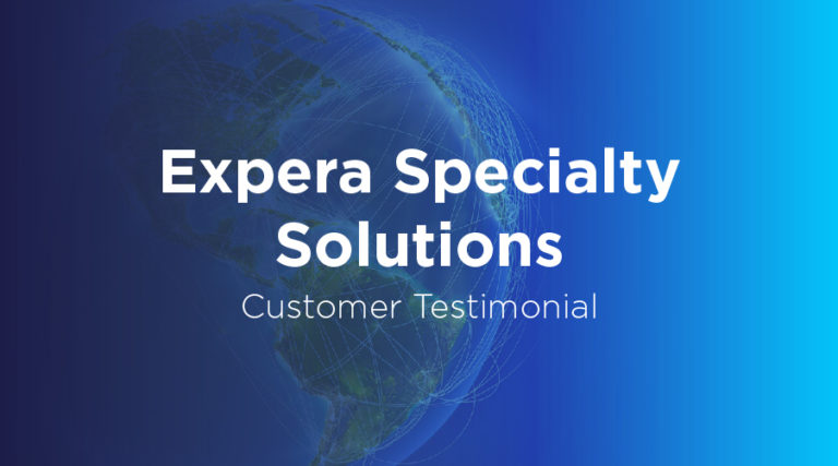 Expera Specialty Solutions - Customer Testimonial - BluJay Solutions