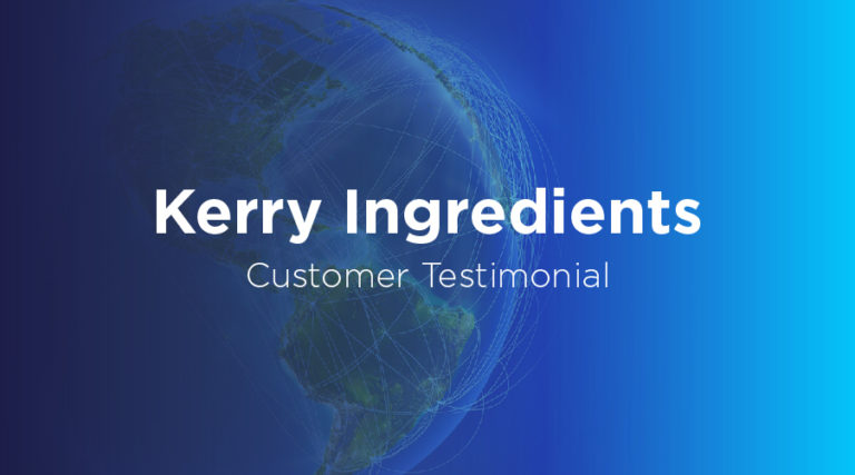 Kerry Ingredients - Customer Testimonial - BluJay Solutions