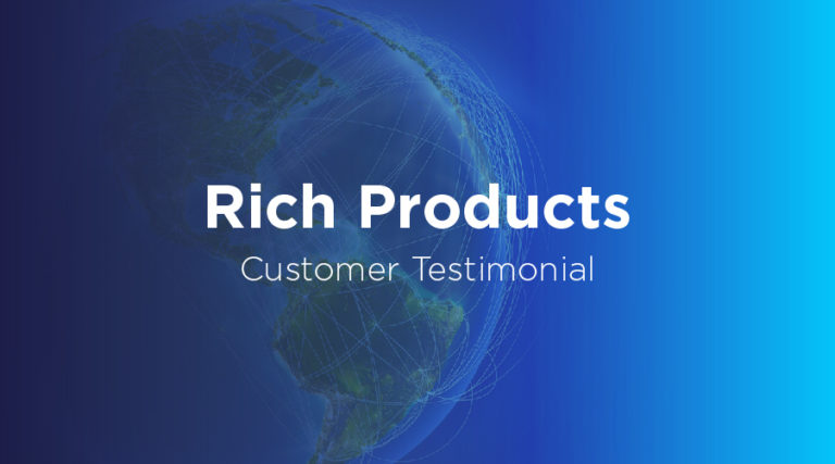 Rich Products - Customer Testimonial - Transportation Management System