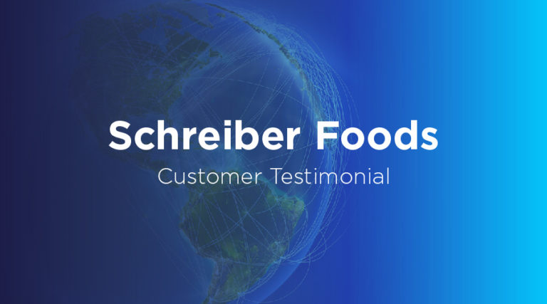 Schreiber Foods - Customer Testimonial - BluJay Solutions