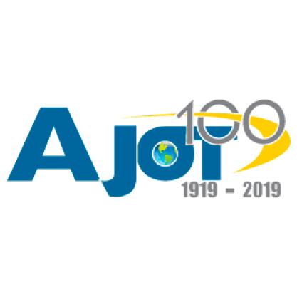 ajot 100 1919 - 2019 logo