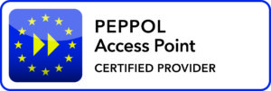 peppol access point certified provider badge