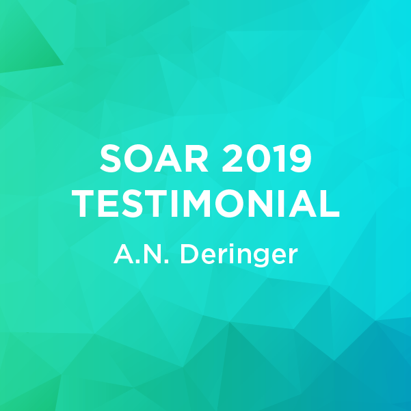 SOAR 2019 Testimonial - A.N. Deringer - Customs Compliance
