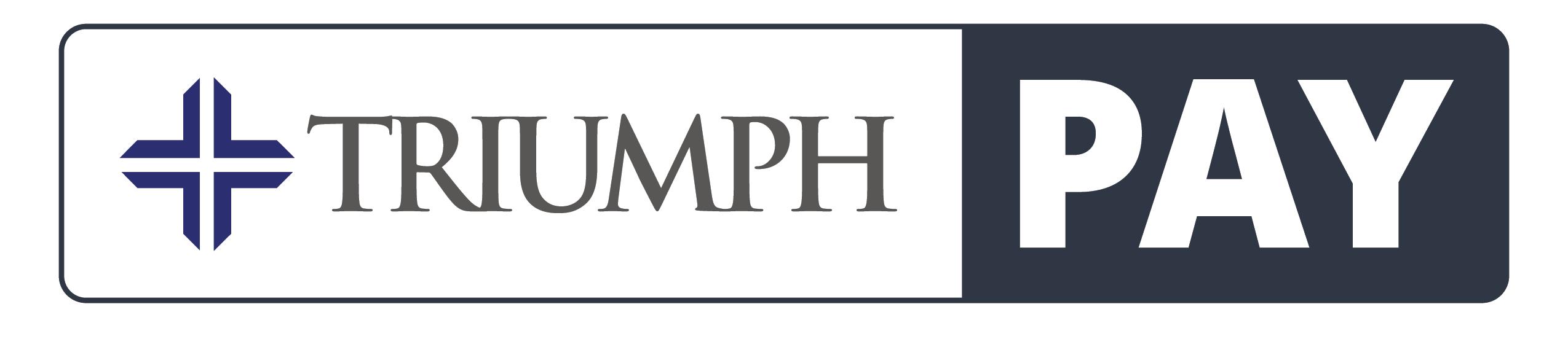 LOGO TriumphPay Logo 2 colors traditional