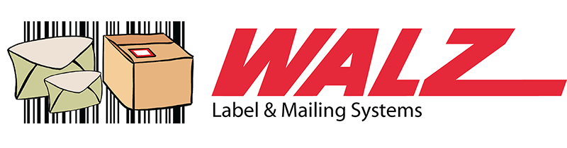WALZ lm box label NEW clean NO ADDRESS