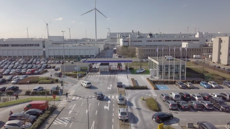 226650 Volvo Cars manufacturing plant in Ghent