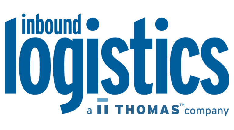 inbound logistics news logo vector